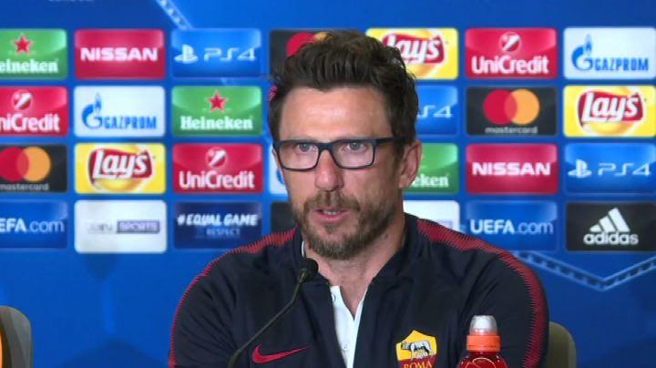 Calcio, Di Francesco: Atletico aggressivo, Roma non si accontenti